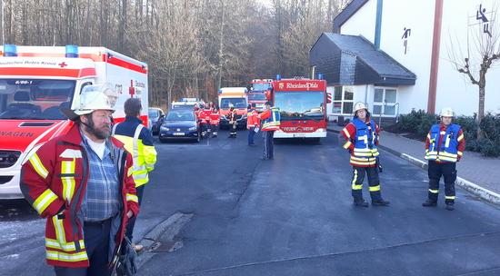 Schule geräumt: Reizgas in der Realschule in Ransbach-Baumbach