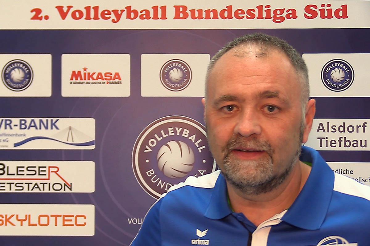 Ralf Monschauer bleibt Co-Trainer bei den Deichstadtvolleys. Foto: Wolfgang Tischler
