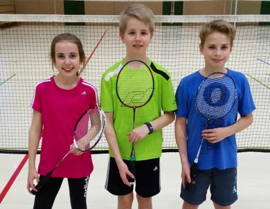 Badminton-Nachwuchs der DJK Gebhardshain nahm am Ranglistenturnier teil