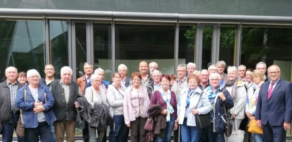 Burglahrer Ortsgemeinderat und VdK gemeinsam in Mainz
