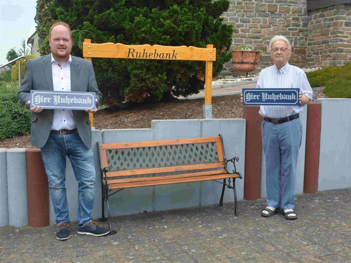 """Ruhebank Kirchen: """"Meilenstein hin zu einer seniorenfreundlichen Stadt"""""""