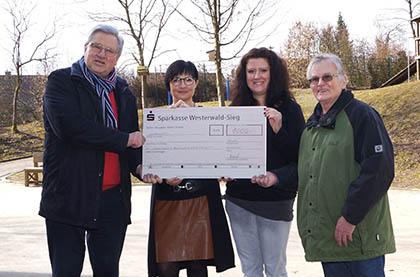 Reha-Sport-Gemeinschaft Wissen unterstützt Förderschule Am Alserberg