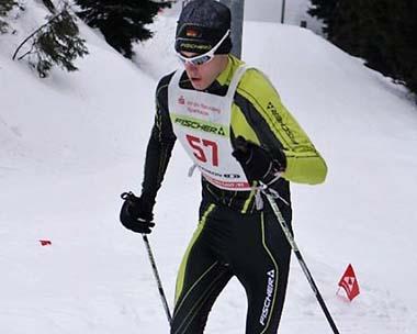 Lennart Stühn vom SVS Emmerzhausen holt Bronze in Oberhof