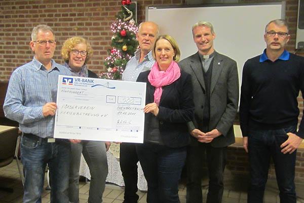 Rheinbreitbacher Bürgerverein spendet 500 Euro im Ort