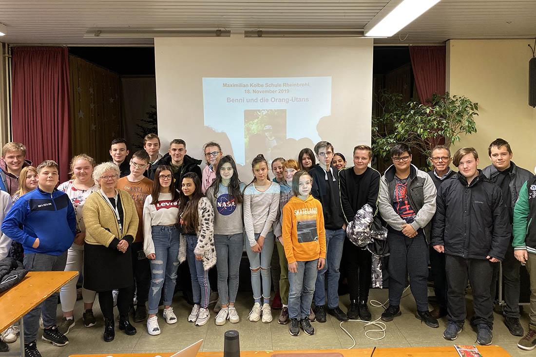 Klimaschutz an der Maximilian-Kolbe Schule in Rheinbrohl