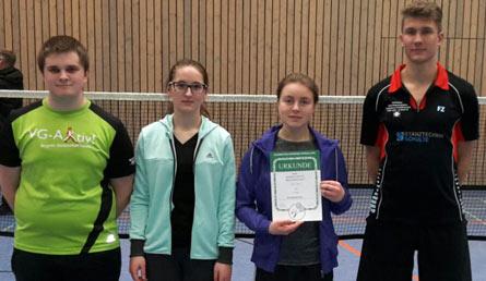 Vier gewinnt: Altenkirchener Badminton-Nachwuchs erfolgreich