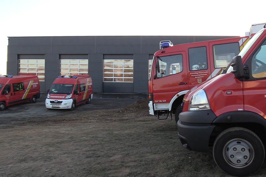 Richtfest bei der Feuerwehr Oberraden-Straßenhaus