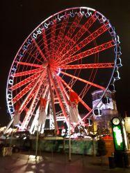 Riesenrad auf dem Düsseldorfer Weihnachtsmarkt. Foto: privat