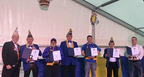 RKK-Auszeichnungen an verdiente �Burggrafen�