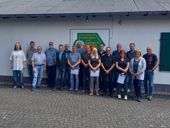 Reservistenkameradschaft Wisserland: Waffensachkundelehrgang erfolgreich abgeschlossen