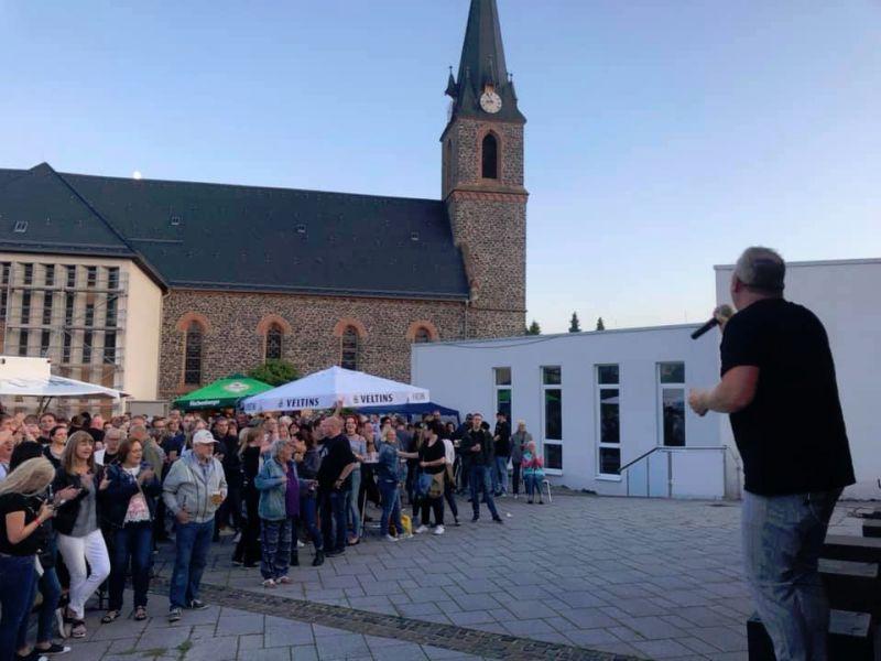 Tolle Stimmung bei der Rocknacht des Kulturkreises Hoher Westerwald