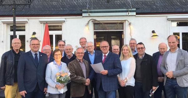 50 Jahre im Verbandsgemeinderat: CDU dankt Horst Rolland