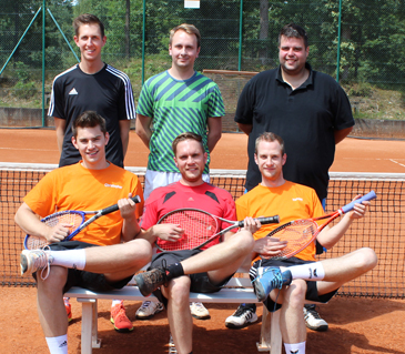Herrenmannschaft der Tennisfreunde feiert Aufstieg