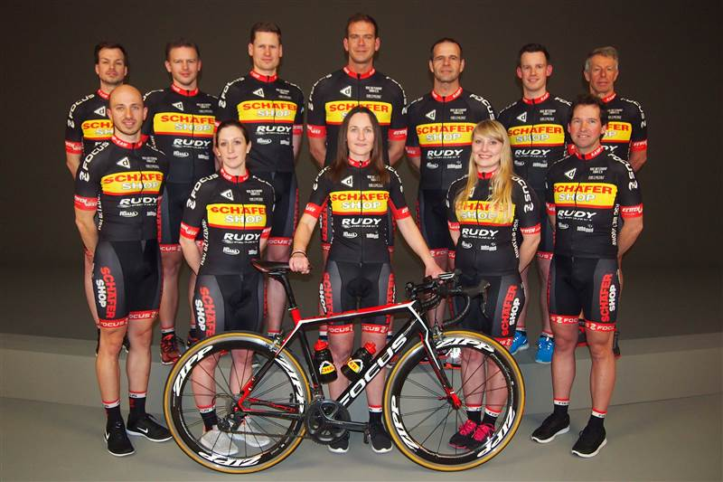 Radsportclub Betzdorf stellt Team 2017 vor
