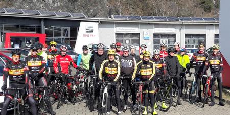 Saisoner�ffnungsfahrt 2018 des RSC Betzdorf