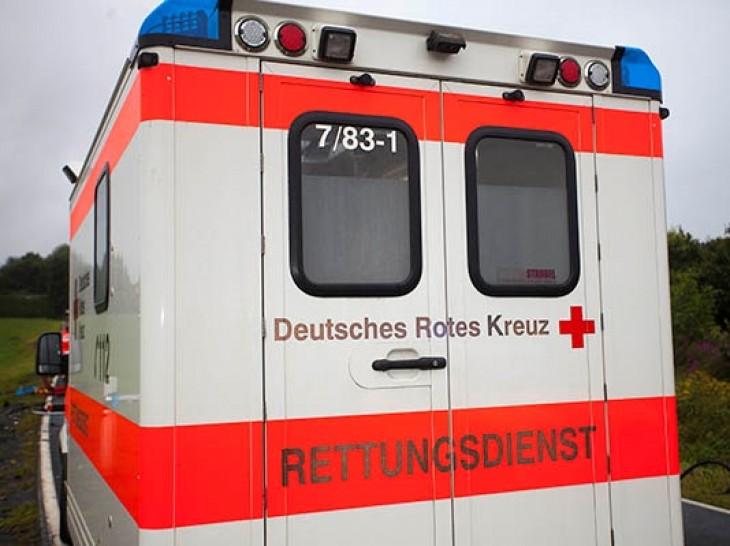 Wissen: Verkehrsunfall mit einer leichtverletzten Person