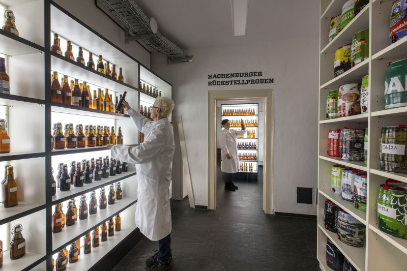 Neue Räume für die Qualitätskoordination in der Westerwald-Brauerei