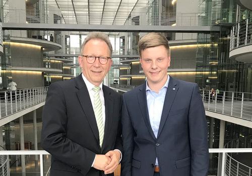 Praktikum beim CDU-Bundestagsabgeordneten