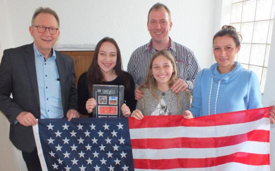 Kim Rosik geht f�r ein Schuljahr in die USA