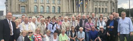 VdK-Gruppe aus Wissen erlebte politisches Berlin