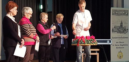 Adventliche Feier der Seniorenakademie im Kaplan-Dasbach-Haus begeisterte