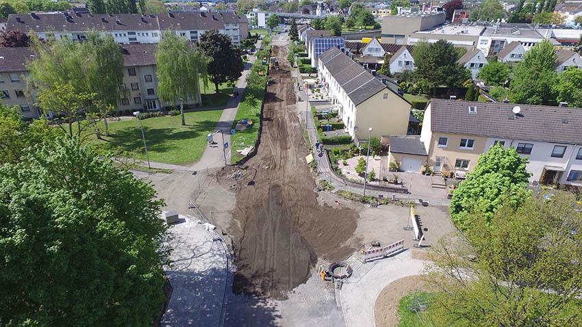 Sandkauler Weg: Verzögerung durch späteren Baubeginn