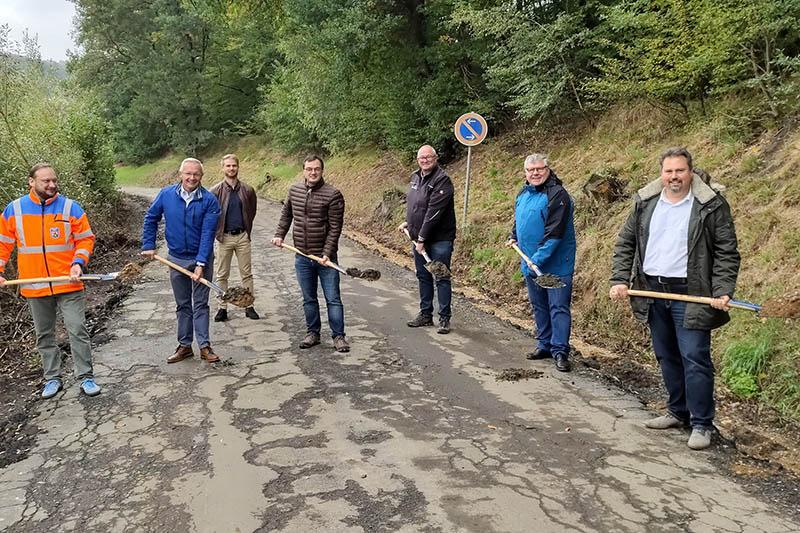 Kreis Neuwied saniert die K 55 bis zur NRW-Landesgrenze