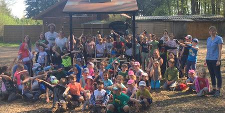 80 Kinder halfen beim Altstädter Frühjahrsputz