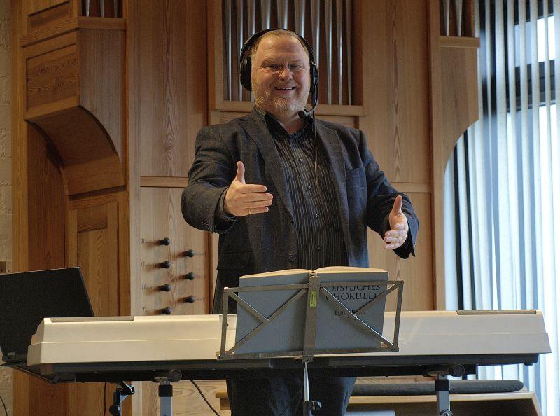 Digitale Chorproben mit Dekanatskantor Jens Schawaller