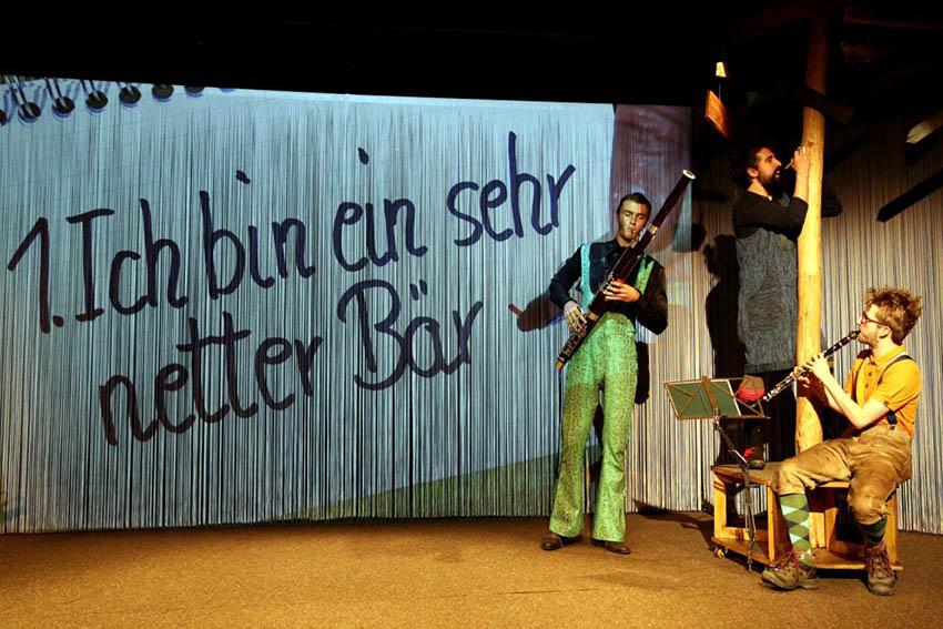 Kindertheater für Kinder ab drei Jahren und die ganze Familie