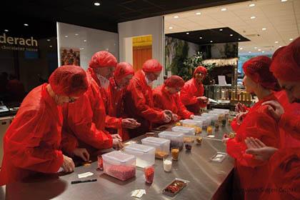 Unternehmer produzierten ihre eigene Schokoladen-Kreation