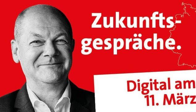 Olaf Scholz – virtuell – im Westerwald