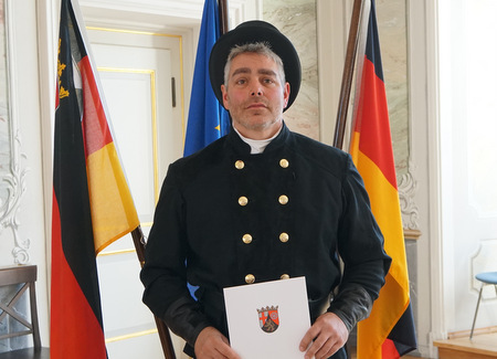 Michael Wuttke ist neuer Bezirksschornsteinfegermeister im Kehrbezirk Kreis Altenkirchen VI. (Foto: ADD Trier)