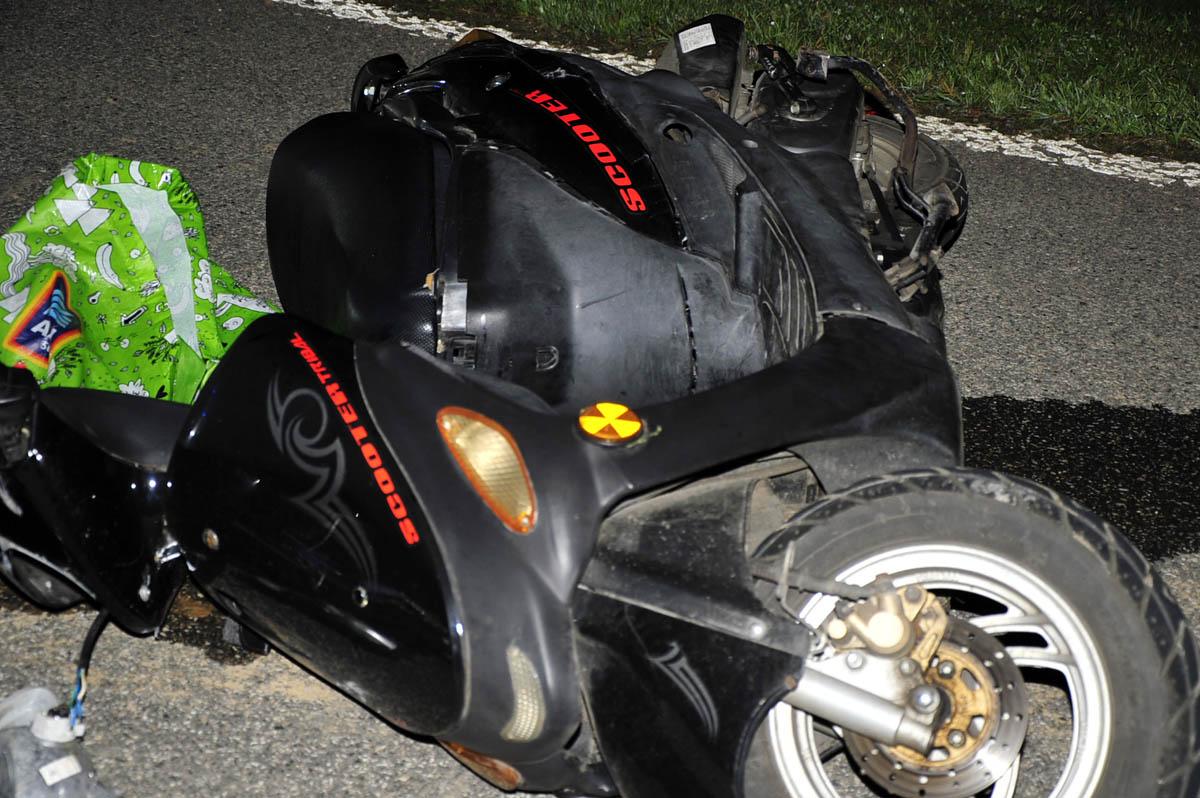Verkehrsunfall in Schürdt: Rollerfahrer verletzte sich schwer