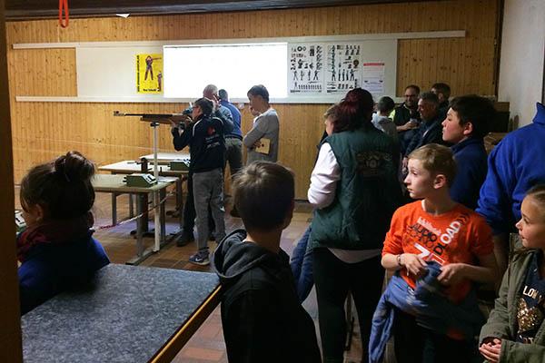 Ostereierschießen der Schützengesellschaft Heimbach-Weis