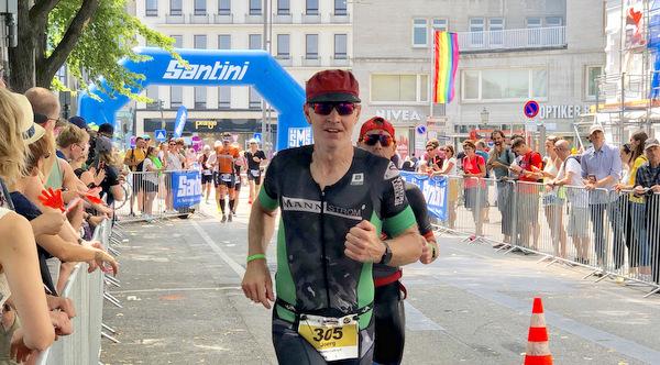 Langdistanz-Triathlon: Malberger J�rg Sch�tz startete beim Ironman in Hamburg