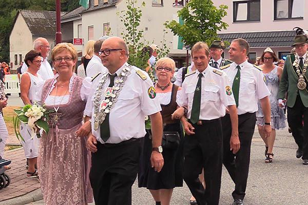 Schützenfest in Raubach in vollem Gange