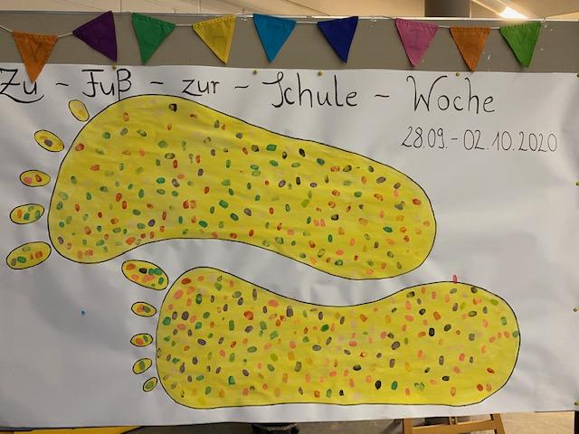 Gelbe Füße in Vettelschoß