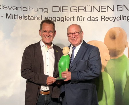 "Beeindruckendes Lebenswerk: Paul Schuster erhielt den ""Grünen Engel"""