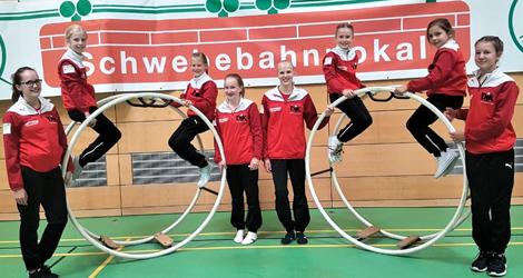Medaillen f�r die Rh�nrad-Turnerinnen der DJK Wissen-Selbach