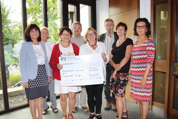 Verein Benefitz spendet für trauernde Kinder