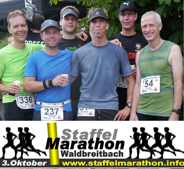 Lauftreff Puderbach Sextett finishte 18. Malberglauf