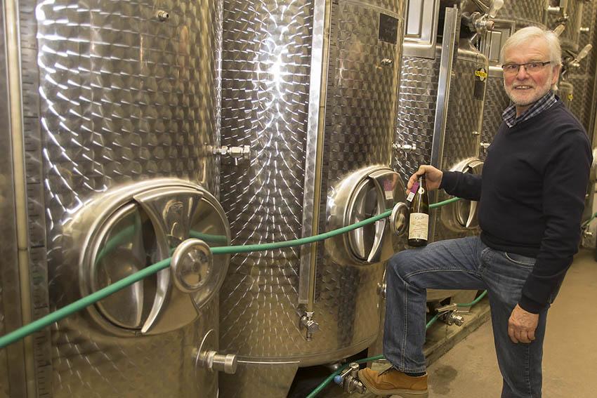 Bester Wein des Mittelrheins kommt vom Weingut Selt aus Leutesdorf