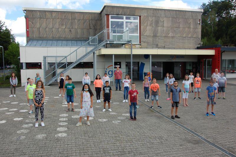 """""""Ich-Du-Wir"""": 112 neue Fünftklässler starten an der IGS Selters"""