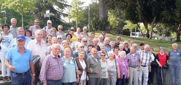 Die Senioren aus Neitersen waren auf Rhein-Tour. (Foto: privat)