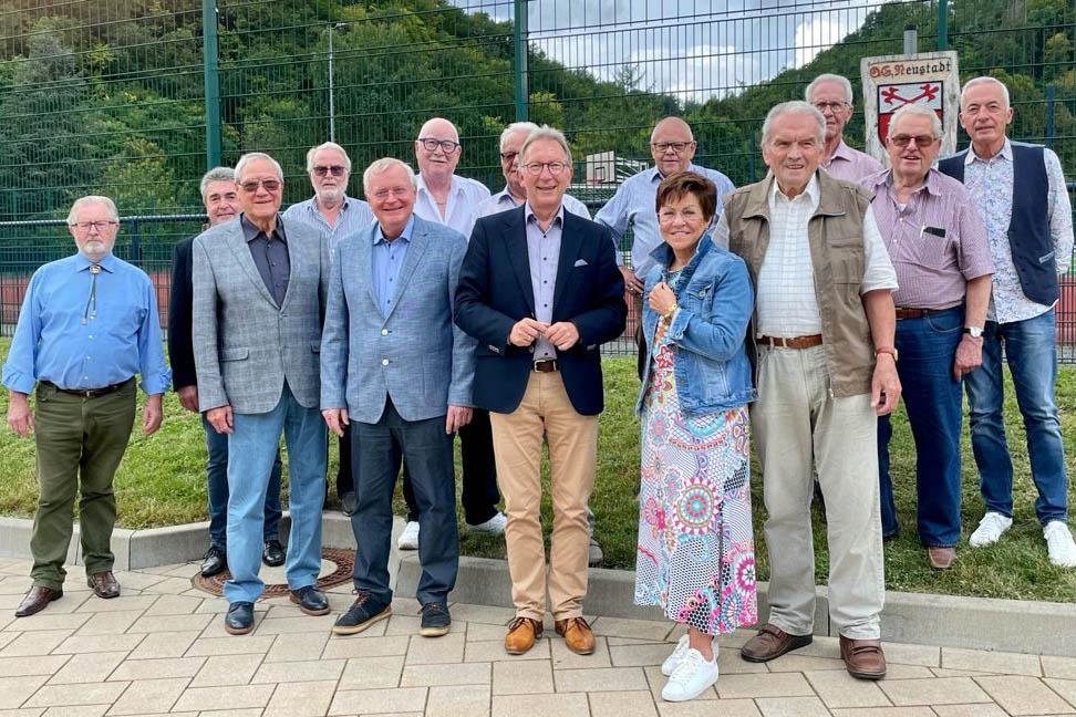 Reiner Kilgen bleibt Vorsitzender der Senioren Union im Kreis Neuwied