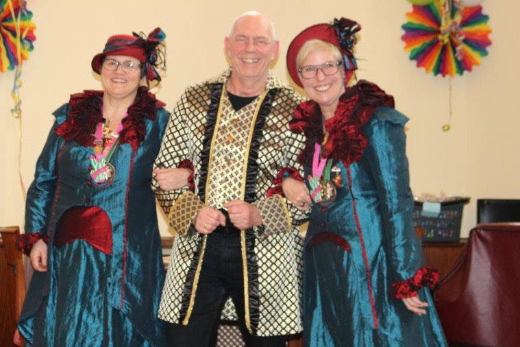 Karnevalsfeier in der Senioren-Residenz in Linz