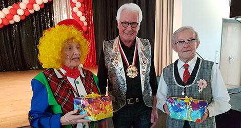 N�rrische Seniorenfeier der Ortsgemeinde Horhausen als Dankesch�n