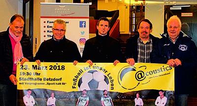 Fu�ballvereine der Region Betzdorf bieten Last-minute-Geschenk