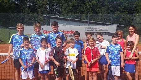 SGW-Jugend Gebhardshain ermittelte Vereinsmeister im Tennis